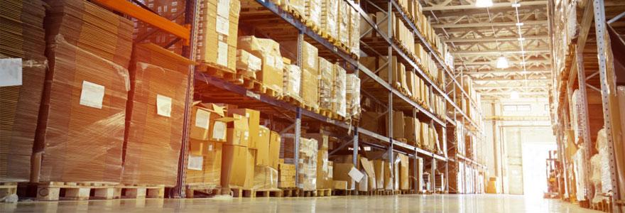 bâtiment logistique